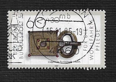 German Used Scott #B659 Catalog Value $1.00