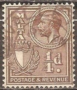 [ML0131] Malta: Sc. no. 131 (1926-1927) Used