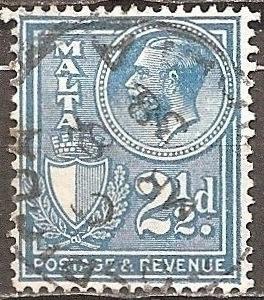 [ML0172] Malta: Sc. no. 172 (1930) Used