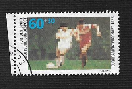 German Used Scott #B663 Catalog Value $1.60