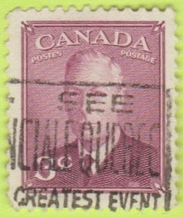 [CA0286] Canada Sc. no. 286 (1949) Used