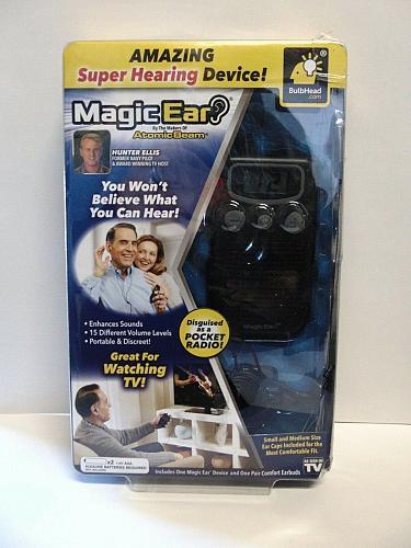 magic ear... super hearing device