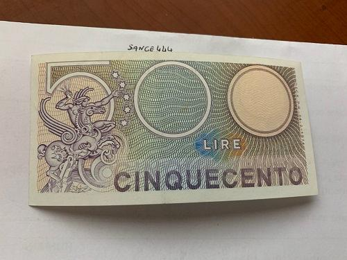 Italy Mercurio 500 lire uncirc. banknote 1974 #4