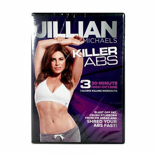 jillian michaels, killer abs workout dvd