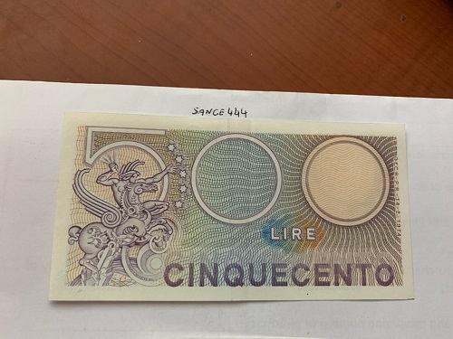 Italy Mercurio 500 lire uncirc. banknote 1974 #7