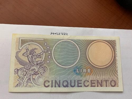 Italy Mercurio 500 lire uncirc. banknote 1974 #10
