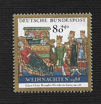 German MNH Scott #674 Catalog Value $1.20