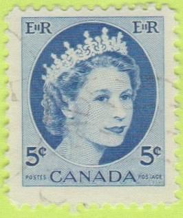 [CA0341] Canada Sc. no. 341 (1954-1961) Used