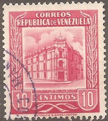 [VZ0662] Venezuela: Sc. no. 662 (1955) Used