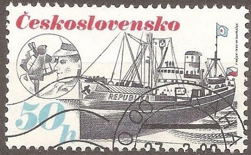 [CZ2736] Czechoslovakia: Sc. no. 2736 (1989) CTO