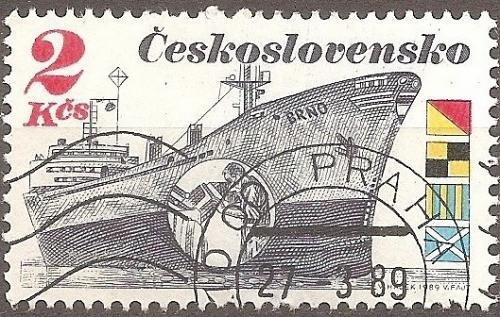 [CZ2738] Czechoslovakia: Sc. no. 2738 (1989) CTO