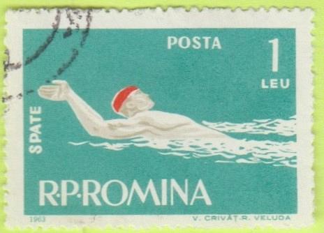 [RO1549] Romania Sc. no. 1549 (1963) CTO