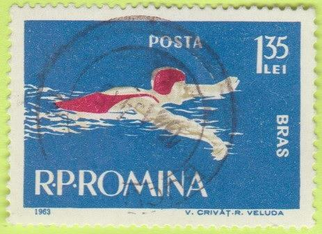 [RO1550] Romania Sc. no. 1550 (1963) CTO