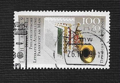 German Used Scott #B677 Catalog Value $2.10
