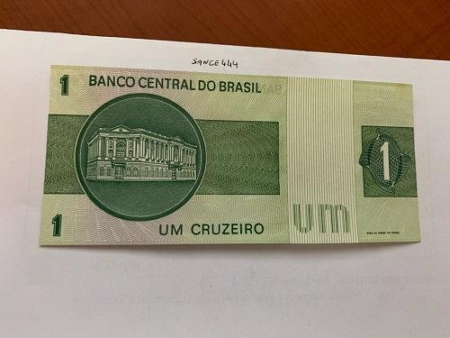 Brazil 1 cruzeiro uncirc. banknote 1975
