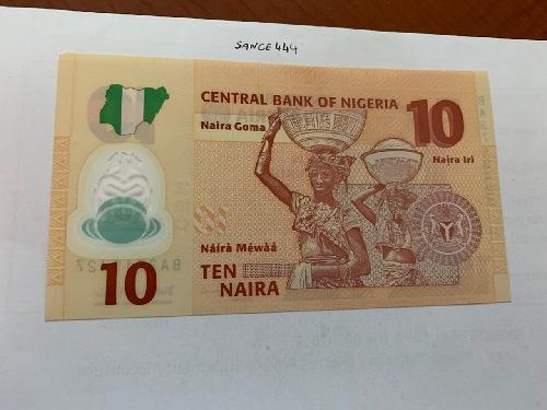 Nigeria 10 naira polymer banknote 2011 #2