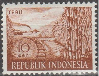 [ID0495] Indonesia: Sc. no. 495 (1960) MNH