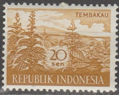 [ID0497] Indonesia: Sc. no. 497 (1960) MNH