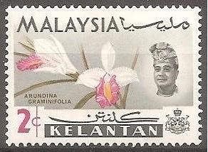 [MAK108] Malaysia (Kelantan): Sc. no. 92 (1965) MNH