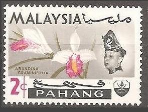 [MAP084] Malaysia (Pahang): Sc. no. 84 (1965) MNH