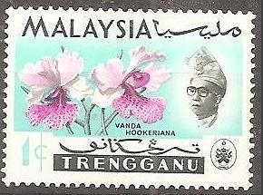[MAT086] Malaysia (Tengganu): Sc. no. 86 (1965) MNH