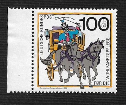 German MNH Scott #683 Catalog Value $2.60
