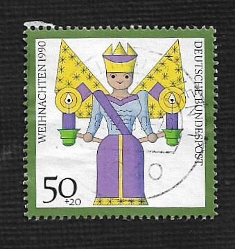 German Used Scott #B697 Catalog Value $.65