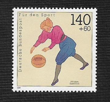 German MNH Scott #703 Catalog Value $2.00