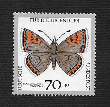 German MNH Scott #708 Catalog Value $.85
