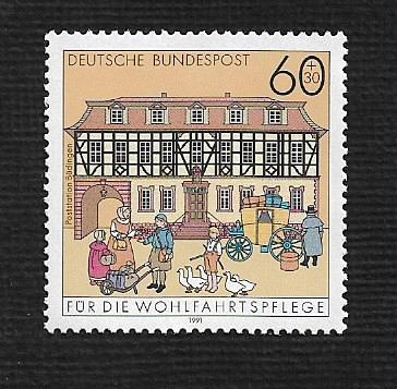 German MNH Scott #715 Catalog Value $.80