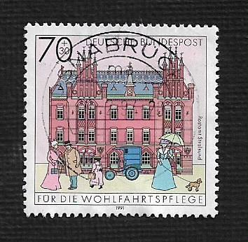 German Used Scott #B716 Catalog Value $1.00