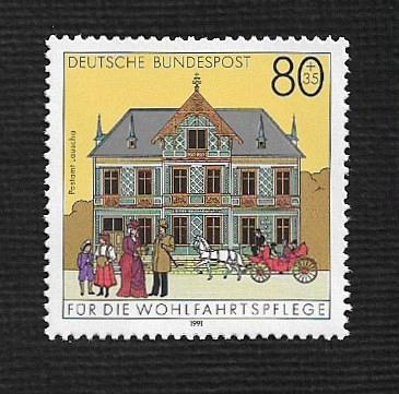 German MNH Scott #717 Catalog Value $1.20