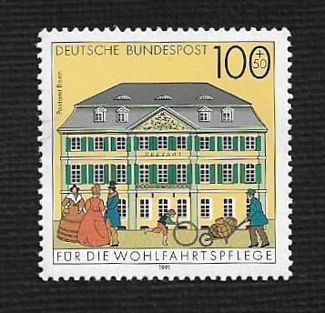 German MNH Scott #718 Catalog Value $1.60
