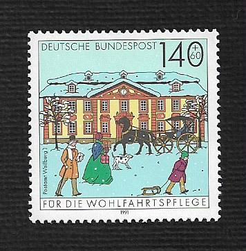 German MNH Scott #719 Catalog Value $2.25