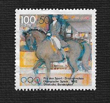 German Used Scott #B726 Catalog Value $2.40