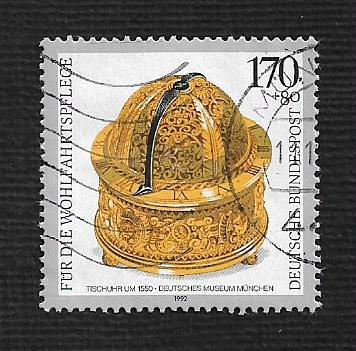 German Used Scott #B738 Catalog Value $2.00