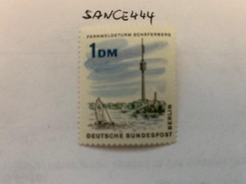 Berlin New Architecture Schaeferberg Radio Tower mnh 1965 stamps