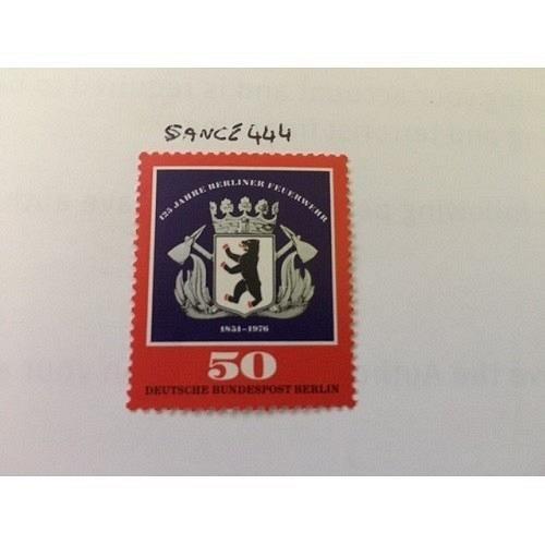 Berlin Fire brigade mnh 1976 #ab stamps