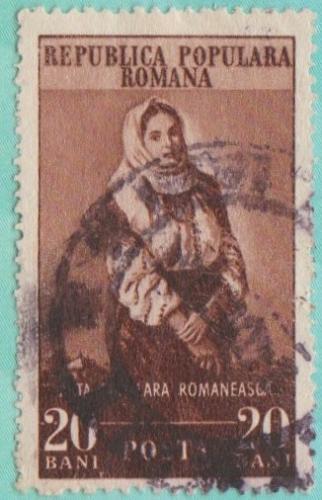 [RO0928] Romania Sc. no. 929 (1953) CTO