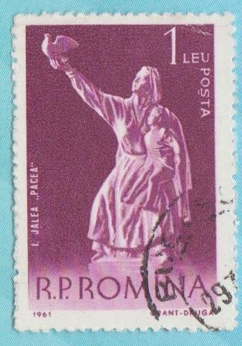 [RO1409] Romania Sc. no. 1409 (1961) CTO