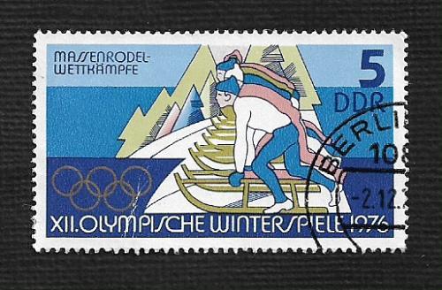 Germany DDR Used Scott #1697 Catalog Value $.25