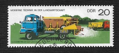 Germany DDR Used Scott #1830 Catalog Value $.25