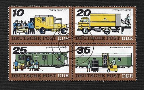 Germany DDR Used Scott #1890a Catalog Value $2.25