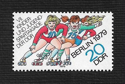 German DDR MNH Scott #2021 Catalog Value $.40