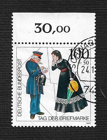 German Used Scott #B750 Catalog Value $1.75