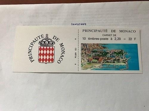 Monaco Postage Due booklet 1985 mnh stamps