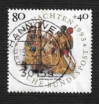 German Used Scott #B756 Catalog Value $1.00