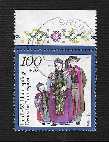 German Used Scott #B771 Catalog Value $1.60
