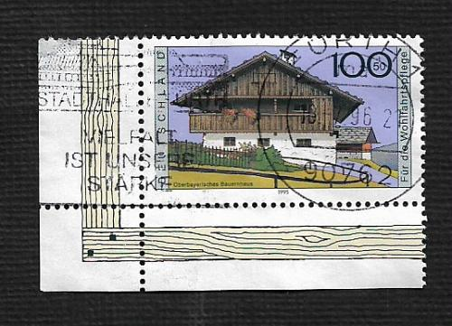 German Used Scott #B787 Catalog Value $1.35