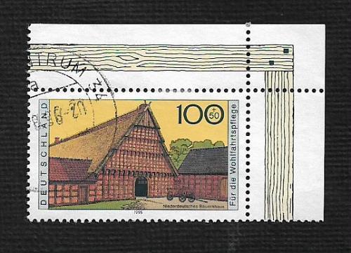 German Used Scott #B788 Catalog Value $1.35